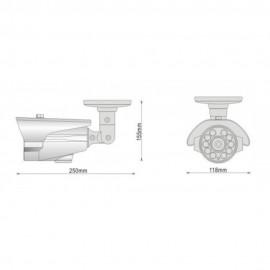 W-HDCVI/IR10/1M/2812-W