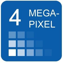 4  Megapixel IP Cameras