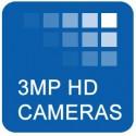 3 MP HD TVI Cameras