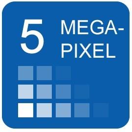 5 Megapixel IP Cameras