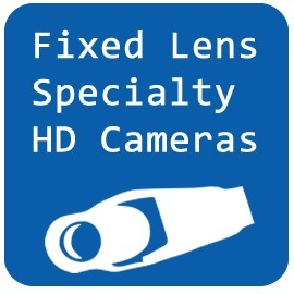 Fixed Lens Specialty HD Cameras