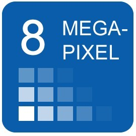 8 Megapixel IP Cameras